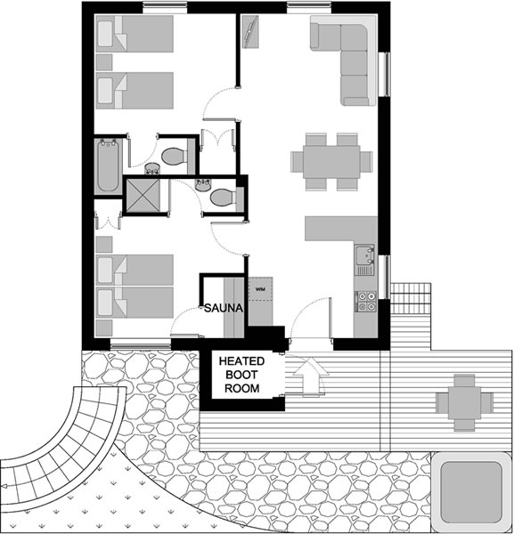 Floor Plans Chalet Eco Lodge Is A 1920 39 S Village House